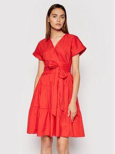 Lauren Ralph Lauren Sukienka codzienna 200843779001 Czerwony Regular Fit