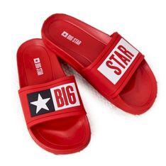 Klapki Dziecięce Big Star DD374153 Czerwone