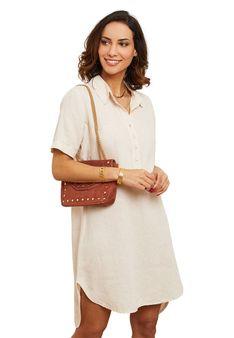 Le Monde du Lin - Sukienka koszulowa - jasnoróżowy