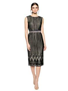 Tiulowa wieczorowa sukienka L`AF DUOMO
