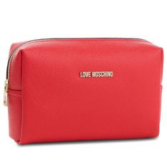 Kosmetyczka LOVE MOSCHINO - JC5390PP06LQ0500 Rosso