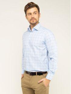 Eton Koszula 100000649 Niebieski Regular Fit