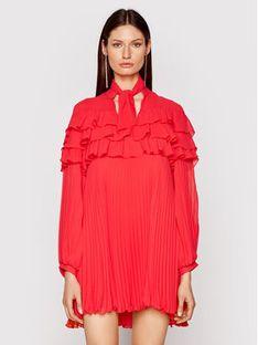 Babylon Sukienka koktajlowa N_E00724 Czerwony Regular Fit