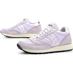 Buty sportowe damskie Saucony bez wzorów płaskie zamszowe sznurowane