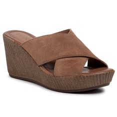 Klapki LASOCKI - 2211-01 Brown