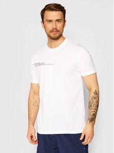 Wilson T-Shirt M Team II Tech WRA794602 Biały Regular Fit