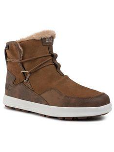 Jack Wolfskin Śniegowce Auckland Wt Texapore Boot W 4035771 Brązowy