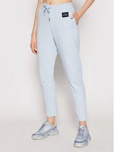 Tommy Hilfiger Spodnie dresowe Box Sweatpant WW0WW30258 Niebieski Regular Fit
