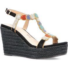 Menbur sandały damskie z klamrą ze skóry ekologicznej