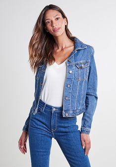 Lee - Kurtka jeansowa - niebieski