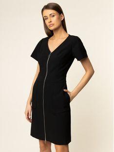 Hugo Sukienka codzienna 50414165 Czarny Regular Fit