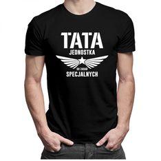 Tata jednostka do zadań specjalnych v2 - męska koszulka z nadrukiem