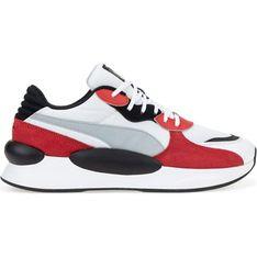 Buty sportowe męskie Puma zamszowe sznurowane