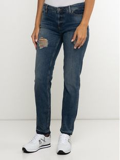 Armani Exchange Jeansy 6GYJ44 Y2MLZ 1500 Granatowy Relaxed Fit