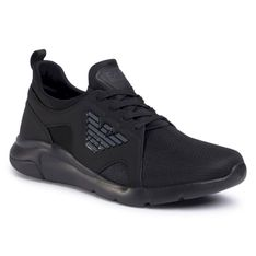 Sneakersy EA7 EMPORIO ARMANI - X8X056 XCC56 M619 Triple Black/Antracite