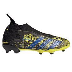 Buty piłkarskie adidas Predator Freak.3 Ll Fg Jr GZ7553 wielokolorowe żółte