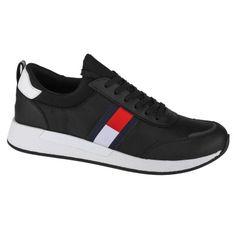 Buty Tommy Hilfiger Jeans Flexy Lycra M EM0EM00632-BDS czarne