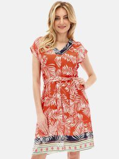 Sukienka letnia z tropikalnym motywem Smashed Lemon