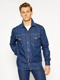 Versace Jeans Couture Koszula B1GVA69I Granatowy Regular Fit