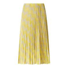 Spódnica midi z ażurowym wzorem