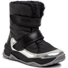 Buty zimowe dziecięce Bartek kozaki na rzepy