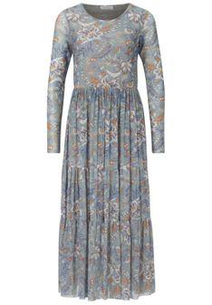 Rich & Royal - Długa sukienka - miętowy