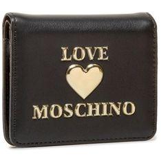 Mały Portfel Damski LOVE MOSCHINO - JC5614PP0BLE0000 Nero