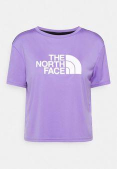 The North Face - T-shirt z nadrukiem - fioletowy