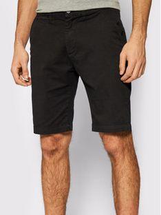 Pepe Jeans Szorty materiałowe Mc Queen PM800227C75 Czarny Regular Fit