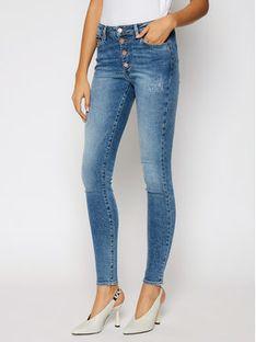 Tommy Jeans Jeansy Skinny Fit Sylvia DW0DW08640 Niebieski Skinny Fit