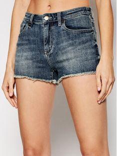 Armani Exchange Szorty jeansowe 3KYJ59 Y1QEZ 1500 Granatowy Regular Fit