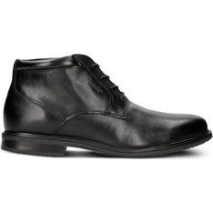 Buty zimowe męskie Rockport czarne sznurowane eleganckie