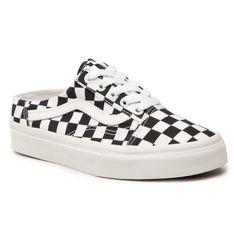 Klapki VANS - Old Skool Mule VN0A4P3Y5GU1  (Checkerboard) Blk/Truwht