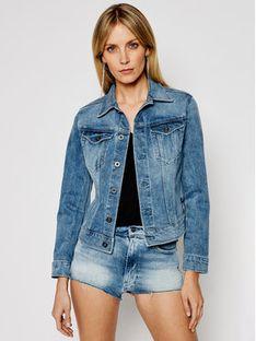 G-Star Raw Kurtka jeansowa Elto Pure Stretch D17437-C052-C293 Niebieski Slim Fit