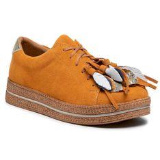 Sneakersy MACIEJKA - 04550-18/00-5 Pomarańczowy