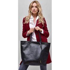 Shopper bag Merg czarny