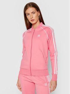adidas Bluza Primeblue Sst Track H34591 Różowy Regular Fit