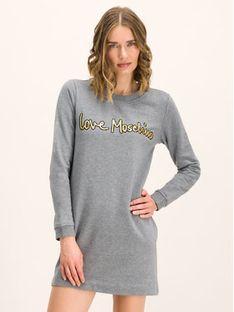 LOVE MOSCHINO Sukienka codzienna W584709M 4068 Slim Fit