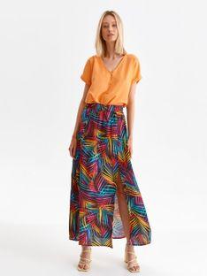 Spódnica maxi w kolorowe wzory