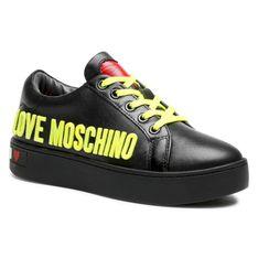 Sneakersy LOVE MOSCHINO - JA15113G1CIAF000  Nero