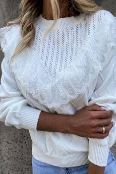 Bluzka damska AFICANA WHITE