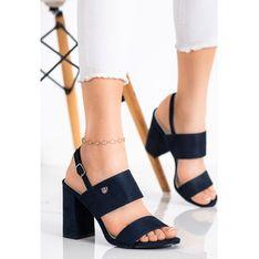 Sandały damskie CzasNaButy eleganckie z klamrą