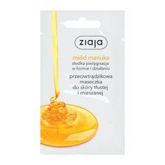 Ziaja Miód Manuka, przeciwtrądzikowa maseczka do twarzy, 7 ml (saszetka)