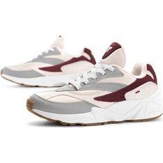 Buty sportowe damskie Fila dla biegaczy na płaskiej podeszwie sznurowane