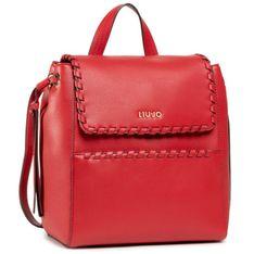 Plecak LIU JO - M Backpack AA1004 E0031 True Red 91664