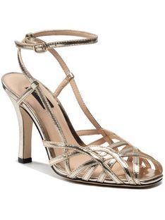 Pinko Sandały Linum Sandalo PE 21 BLKS1 1H20TY Y71T Złoty