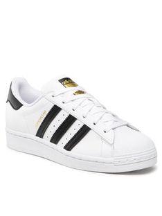adidas Buty Superstar J FU7712 Biały
