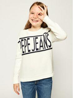 Pepe Jeans Sweter Vivian PG700895 Beżowy Regular Fit