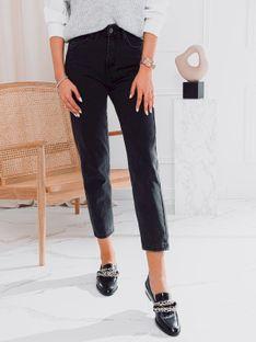 Spodnie damskie jeansowe 022PLR - czarne