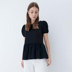 Mohito - Bluzka z wiązaniem na plecach - Czarny